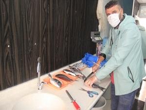 Akdeniz balıkçılık Hakkari'de açıldı