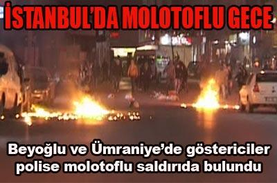 ZIRHLI ARAÇLARA MOLOTOFLO SALDIRI