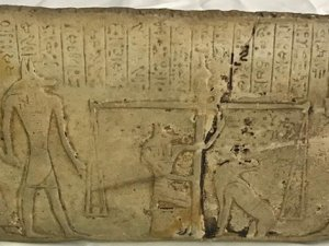Mısır dönemine ait kil tableti