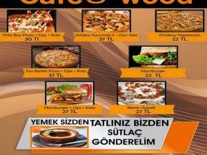 Cafe Wood paket servisi ile hizmetinizde