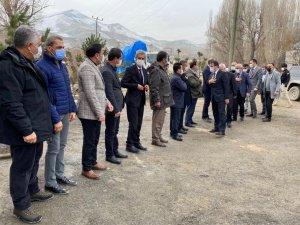 Ak Parti heyeti İran sınırında