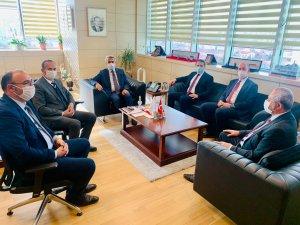 Ak Parti heyetinden Ankara çıkarması