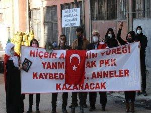 Aileler HDP önünde eylem yaptı