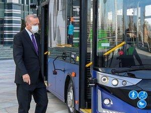 Türkiye'nin ilk sürücüsüz otobüsü