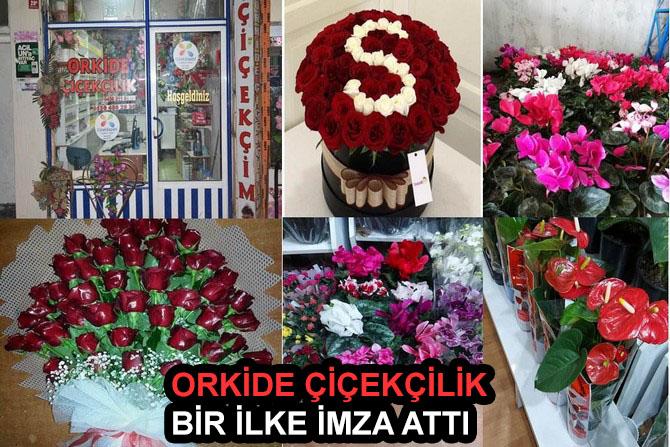 ORKİDE Çiçekçilik bir ilke imza attı