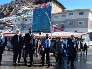 Kültür ve Turizm Bakan Yardımcısı Özgül Çukurca'da