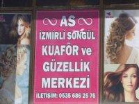 İzmirli Songül kuaför ve Güzellik merkezi hizmete açıldı