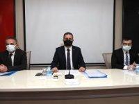 Hakkari'de pandemi kurulu toplantısı düzelendi