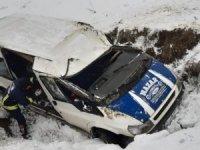 Van-Hakkari yolunda kaza