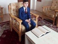Kuran-ı kerim okuma yarışması bölge birincisi Hakkari'den