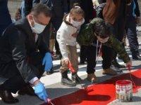 Hakkari'de ''Kırmızı Çizgimizi Çekiyoruz'' etkinliği