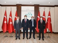 Ak Parti heyetinden Vali Akbıyık'a ziyaret
