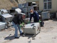 Hakkari'de 250 çöp konteynırı yerleştirildi