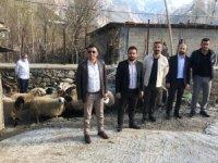 ASRİAD 350 aileye et yardımında bulundu