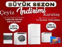 Karataş Arçelik'ten dev kampanya...