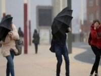 Meteorolojiden kuvvetli rüzgar uyarısı