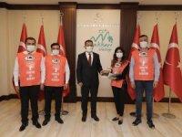 TEMA Vakfı'ndan Vali Akbıyık'a ziyaret
