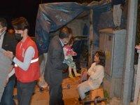 Hakkari'de Erdoğan ailesi sıcak yuvaya kavuşturuldu