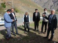 Başkan Özbek afet bölgesini denetledi