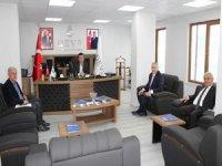 YÜTSO Başkanı Pınar'dan Deva partisine ziyaret