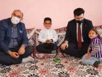 Özel eğitimli çocuklara anlamlı ziyaret