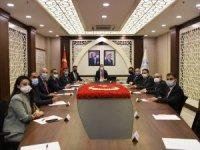 Hakkari'de  OSB toplantısı yapıldı