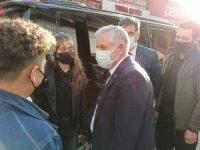 Başkan Özbek halkın taleplerini dinledi