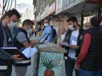 """Hakkari'de  45 kişiye """"pandemi"""" cezası"""