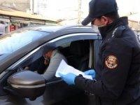 Yüksekova polisinden korona denetimi