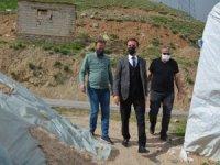 Müdür Abdullahoğlu şehit ailelerini ziyaret etti