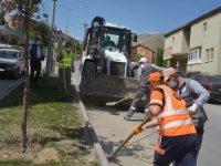 Belediye ve karayolları kenti pırıl pırıl yaptı