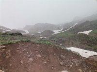 Şemdinli'de mayıs ayında kar yağışı