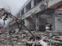 Doğal gaz patlaması 12 ölü