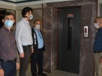 Hakkari'de asansörler denetlendi
