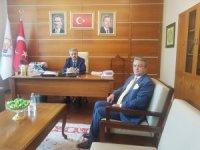 Başkan Taş'tan Yazıcı'ya ziyaret