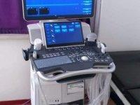 Şemdinli hastanesine yeni ultrason cihazı
