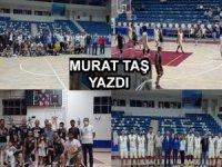 Hakkâri'de Basketbol Resitali...