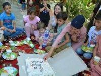 Hakkari'de masal ve doğum günü etkinliği düzenlendi