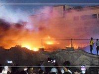 Irak'taki Covid-19 hastanesinde yangın 64 ölü