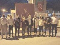 Başkan Özbek'ten sağlıkçılara teşekkür