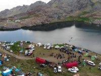 Cilo Sat Buzul Gölleri festival alanına dönüştü