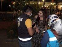 Ekipler kadına bin 50 lira ceza uyguladı