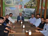 Başkan Büyüksu gazetecilerle bir araya geldi