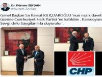 Dr. Rüstem Zeydan CHP'ye katıldı
