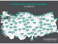 Türkiye'de 69 kişi hayatını kaybetti