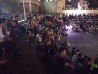 Hakkari'de açık hava sineması keyfi devam ediyor