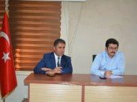 Vali Yardımcısı Kasımoğlu ilk toplantısını yaptı