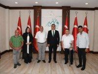 Başkan Keskin'den Vali Akbıyık'a ziyaret