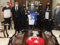 Kulüp başkanlarından Vali Akbıyık'a ziyaret