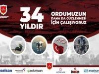 TSKGV 34. Kuruluş yıl dönümünü kutluyor